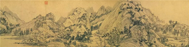 最全的黄公望传世绘画作品找到了 - 河南省焦墨艺术